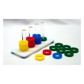 Toy Rings Plate - Rings Game