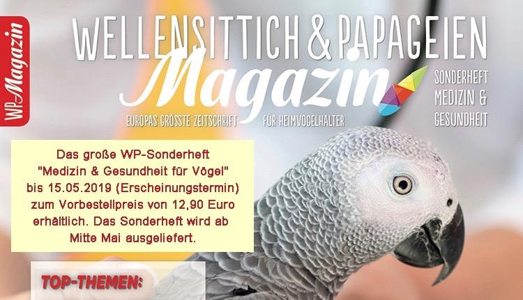 WP-Magazin / Sonderheft Medizin & Gesundheit für Vögel