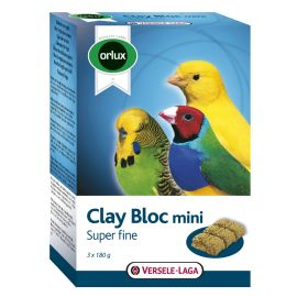 Orlux Clay Bloc Mini Super Fine (Lehmblock) 540 g