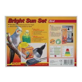 Komplettset Bright Sun Bird 70 W in schwarz oder weiß